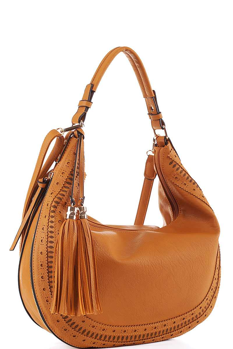 TRENDY SATCHEL BAG WITH LONG STRAP JY-LMS-084 > Fashion