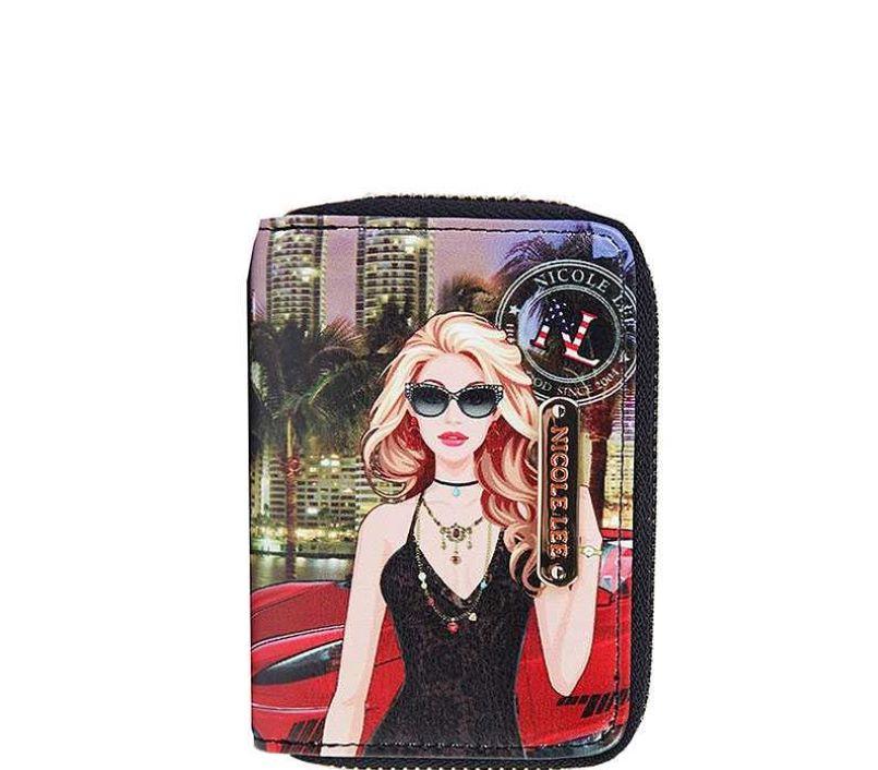 Stylishly Nicole Blogmas: Stylish Nicole Lee FASHION PRINT SMALL CARD WALLET JYPRT