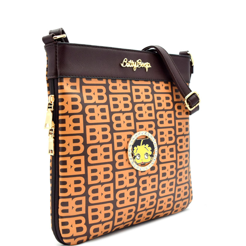c6ca604596ed Betty Boop Cross Body Bag Messenger Bag RZ-BB602M   Designer ...