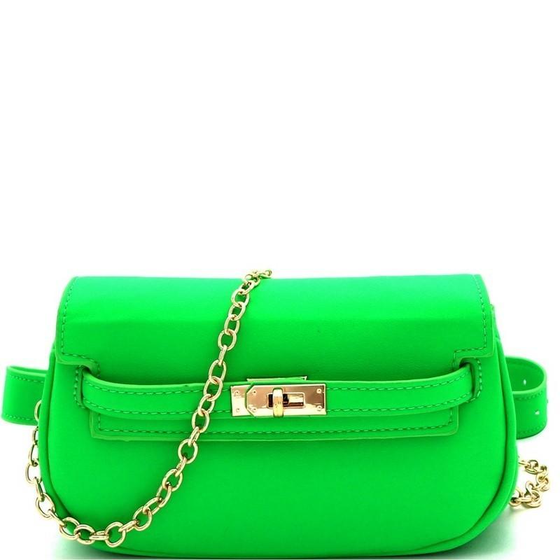 Shop Coach Green Cassie 19 Cross-Body Bag in Pebble