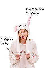 Trendy Moving Ear Rabbit Hat FM-AT456