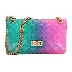 Multi Color Jelly Classic Shoulder Bag