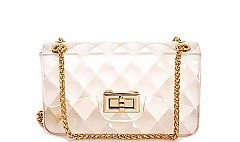 TENDER JELLY MINI CROSSBODY BAG WITH CHAIN