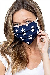 Reusable Stars Cotton Mask