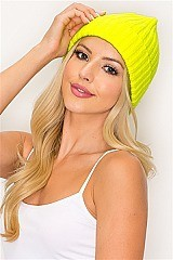 PACK OF 12 TRENDY COLORFUL CROCHET FASHION BEANIES