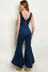 DARK DENIM JUMPSUIT - Pack of 6 Pieces