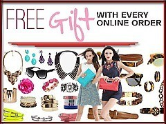 FREE ACCESSORIES WITH VALUE OF $20 To $45