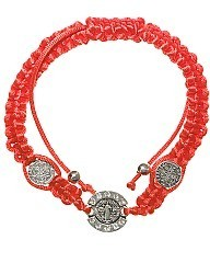 Red String Protection Bracelet Religious SAINTS