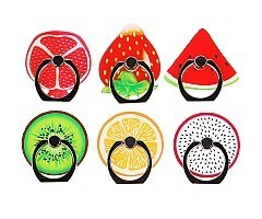 6 Pack Fruits Phone Ring Grip