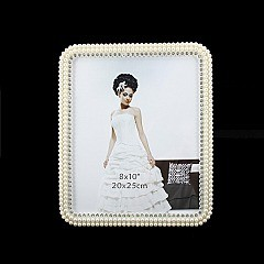 DECORATIVE WEDDING FRAME W/ ROUND EDGES 8 X 10 SLPIC920