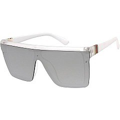 Pack of 12 Exposed Lenses Rectangle Sunglasses