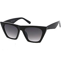 Pack of 12 Square Frame Tinted Statement Sunglasses