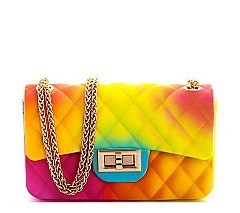 Small Size Jelly Shoulder Bag