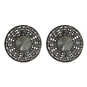 Fashionable Black Exquisite Earrings SLJE3391