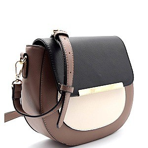 BGW46310-LP Madison West Color-Combo Round Cross-body