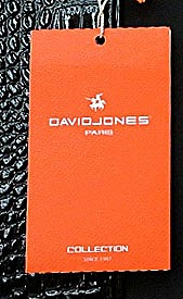 Patent David Jones Designer Top Quality Satchel