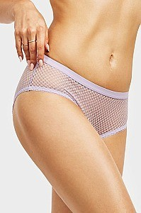 PACK OF 12 PIECES SULTRY BREATHABLE FULL MESH BIKINI PANTY MULP9064LK